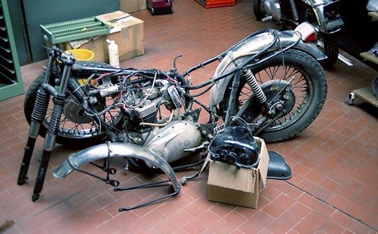 Triumph-T120-vor-Restaurierung
